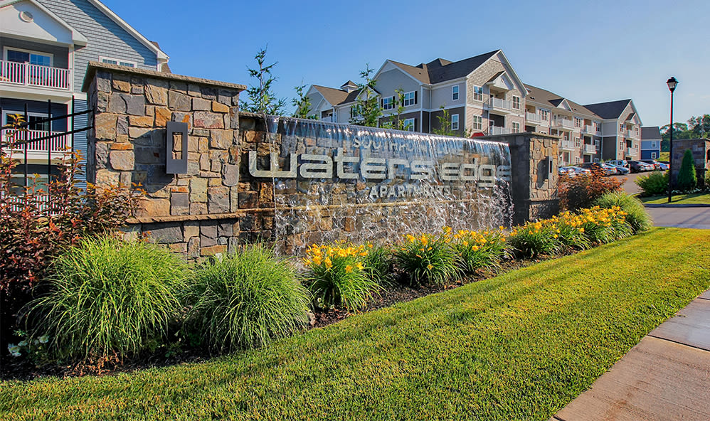 Exterior at Waters Edge Apartments in Webster, New York