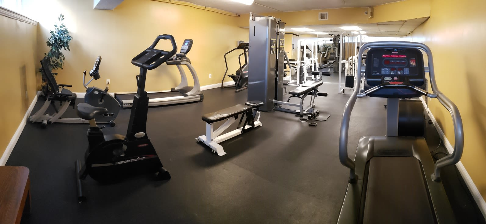 Gym Area at Forest Place Apartments