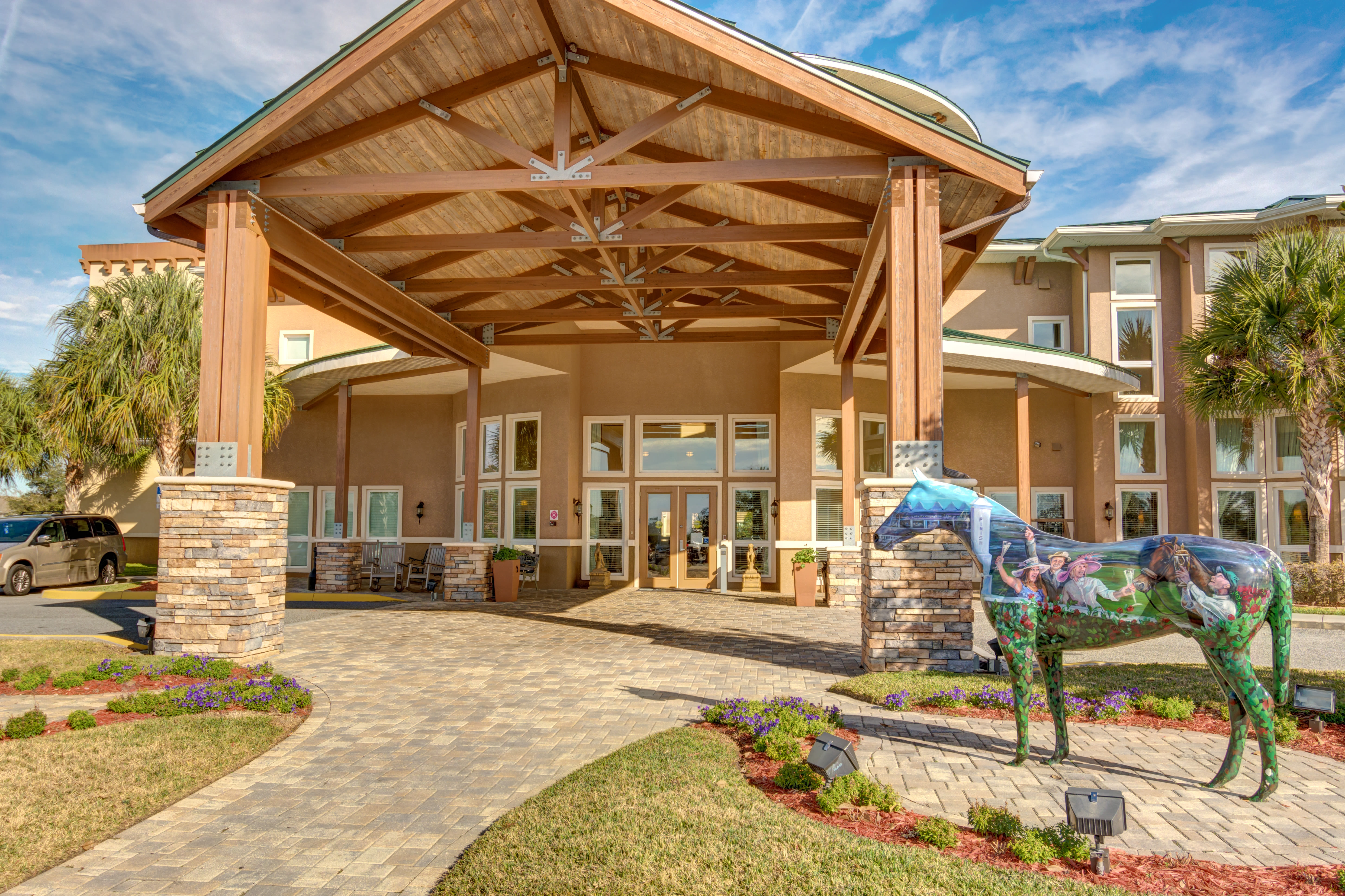 Senior living at Brentwood at Fore Ranch in Ocala, Florida