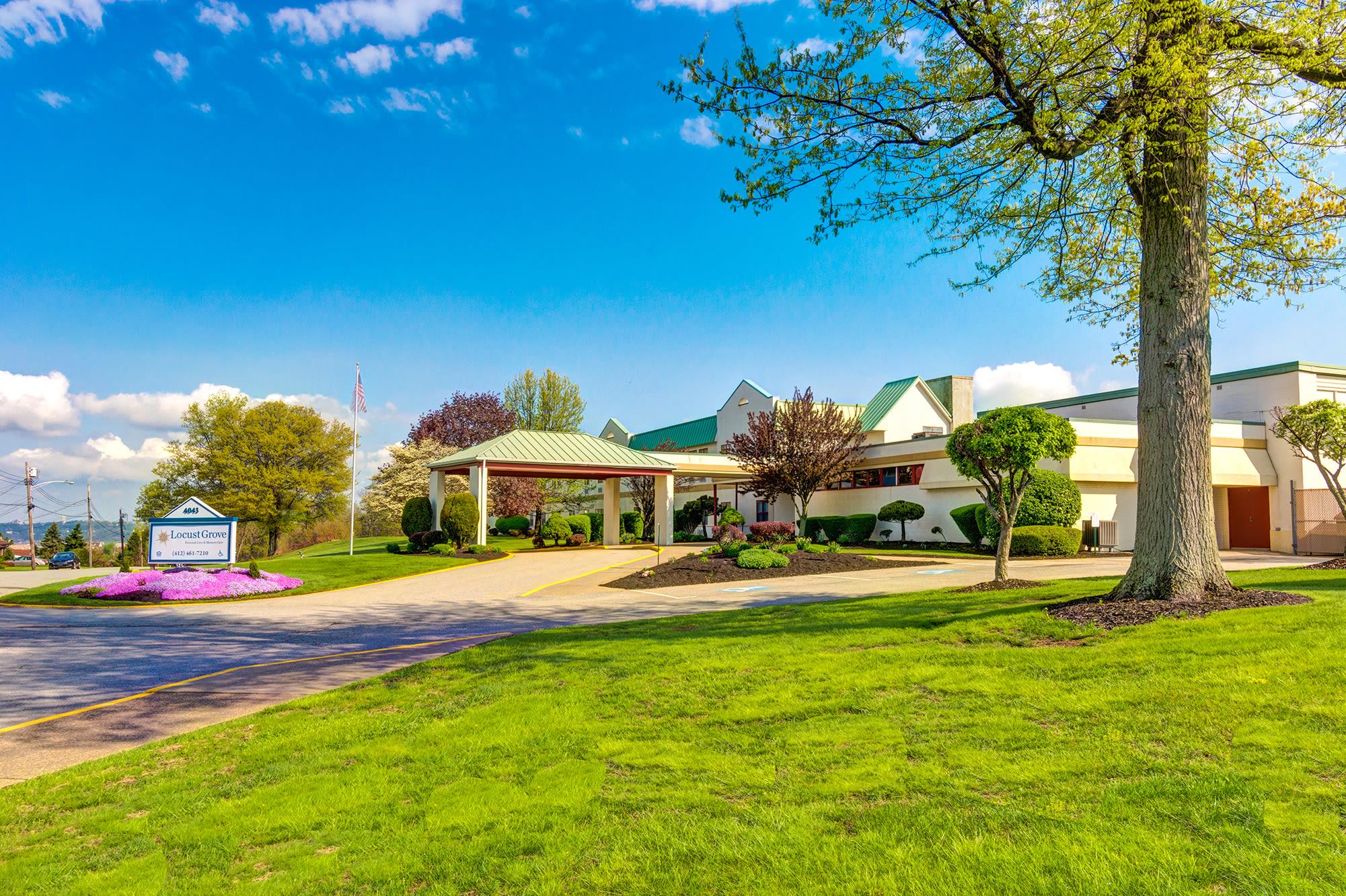 Senior living at Locust Grove Personal Care & Memory Care in West Mifflin, Pennsylvania
