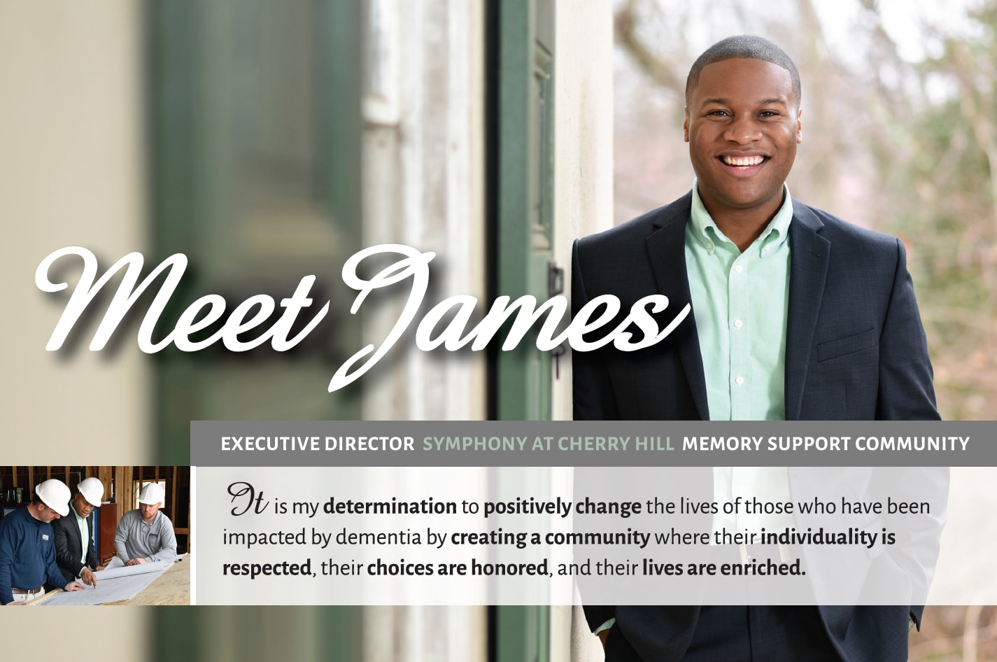Meet James from Symphony at Cherry Hill in Cherry Hill, New Jersey.