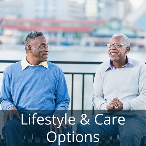 Learn about lifestyle care options at Symphony at Oaklawn senior living community in Louisville, Kentucky