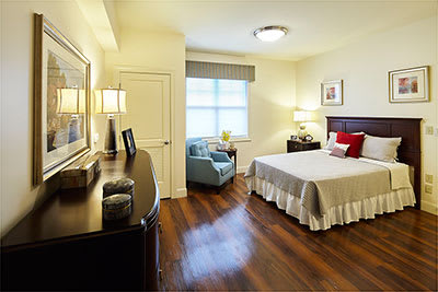 Studio senior apartment at Symphony at Centerville in Dayton, Ohio