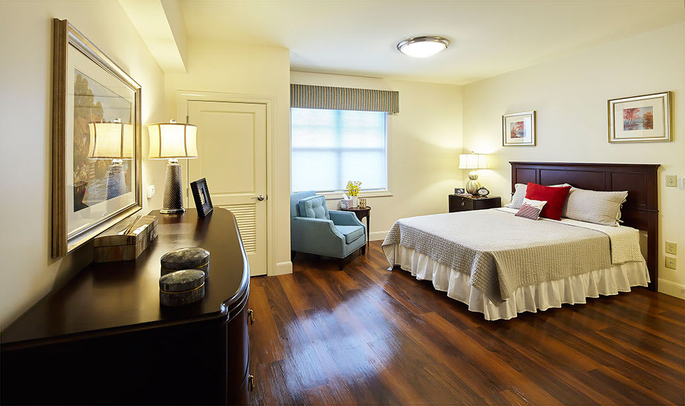 Private apartment at  Symphony at Centerville in Dayton, Ohio