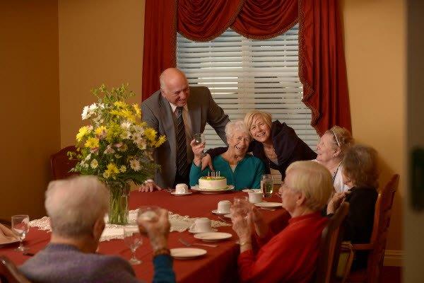 Social senior living in Dayton.