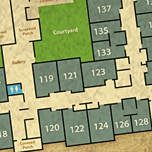 View senior living floor plan options at Reunion Court of The Woodlands in The Woodlands, Texas
