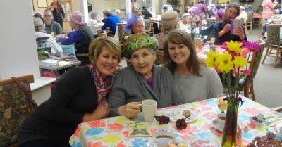 senior residents & staff