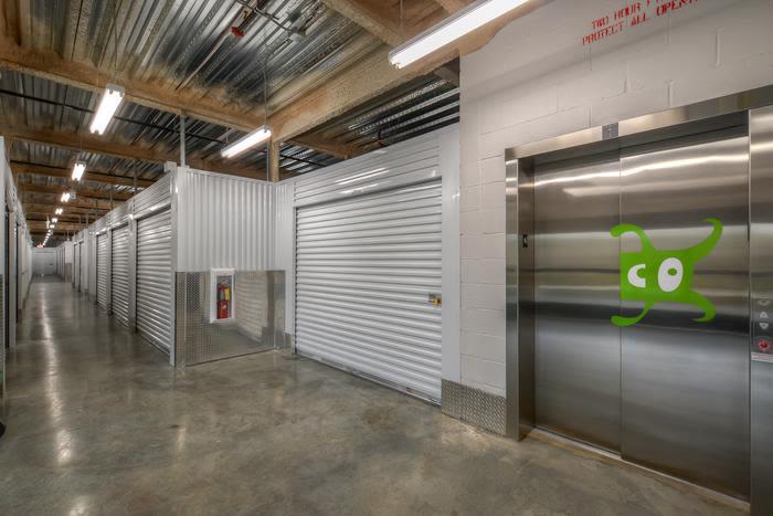 Space Shop Self Storage loading dock in Riverdale, Georgia