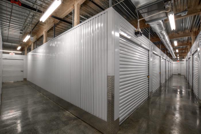 Spacious interior units at Space Shop Self Storage in Riverdale, Georgia