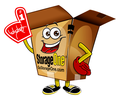 A StorageOne animated box for StorageOne Eastern & Silverado Ranch in Las Vegas, Nevada