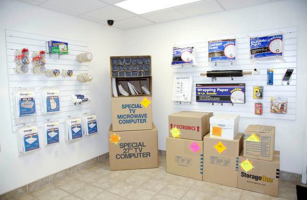 StorageOne Eastern & Silverado Ranch in Henderson, Nevada packing supplies