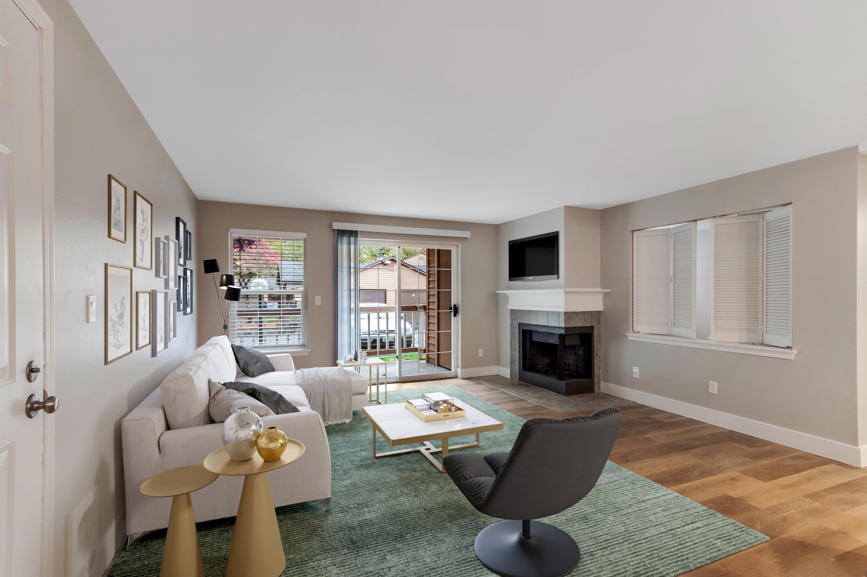 Spacious living room at Chandlers Bay