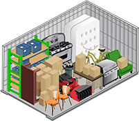 10x15 storage unit at U-Lock-It Self Storage in Vancouver, Washington