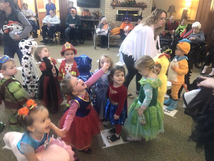 Halloween at Moran Vista