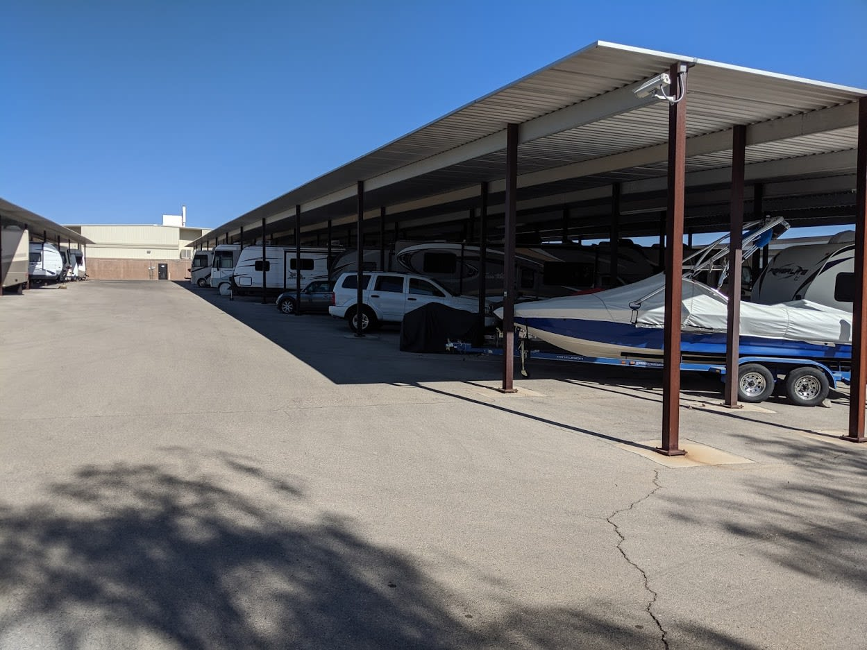 Boat storage at Golden State Storage - Horizon Ridge in Henderson, NV