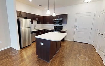 Virtual tour of a one bedroom apartment at The Kane in Aliquippa, Pennsylvania
