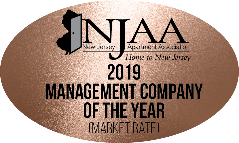 Voted NJAA 2019 Management Company of the Year