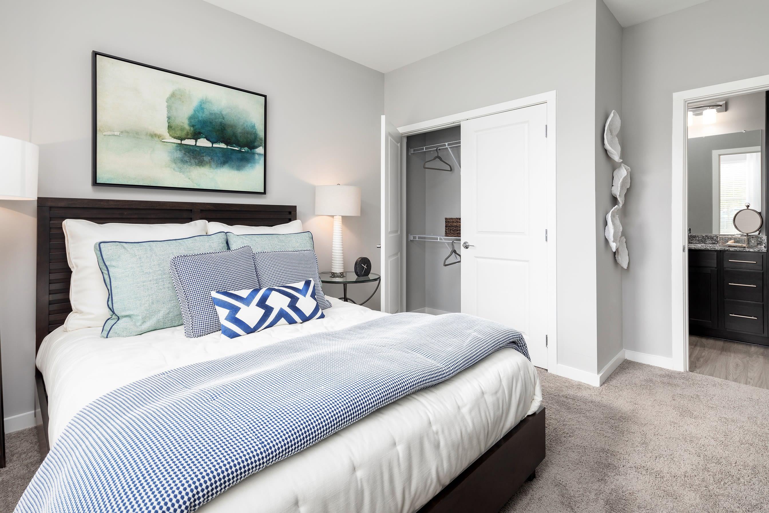 Main bedroom at Elevate at Brighton Park in Summerville, South Carolina