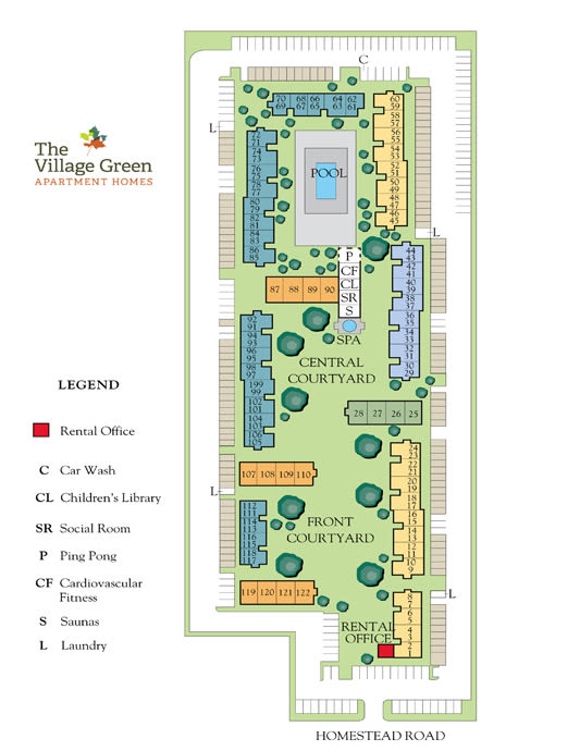 Garden Style 1 & 2 Bedroom Apartments & Townhomes in Cupertino