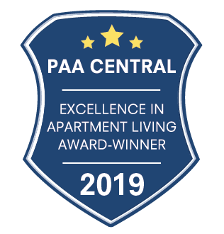 Excellence in Apartment Living Award Winner
