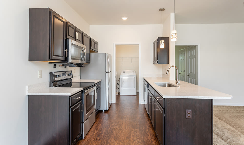 Avon Commons offers a modern kitchens in Avon, New York