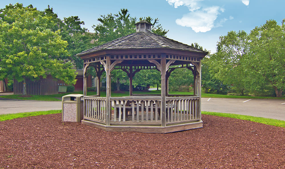 Gazebo at Club at North Hills in Pittsburgh, Pennsylvania
