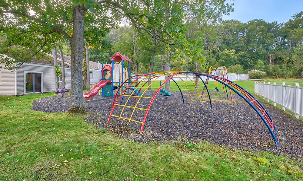 Outdoor recreation at Emerald Springs Apartments in Painted Post, New York