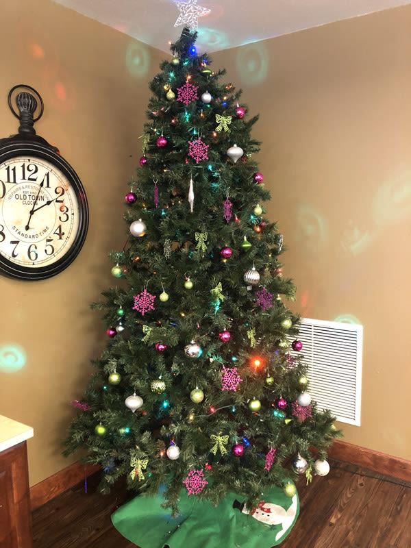 Christmas at Moran Vista senior living