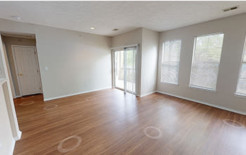 Virtual tour of a one bedroom apartment at Highlands of Montour Run in Coraopolis, Pennsylvania