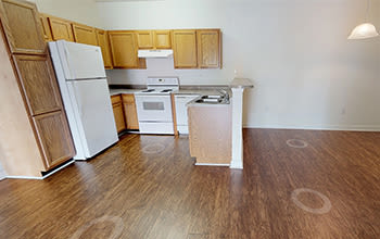 Virtual tour of a two bedroom apartment at Main Street Apartments in Huntsville, Alabama