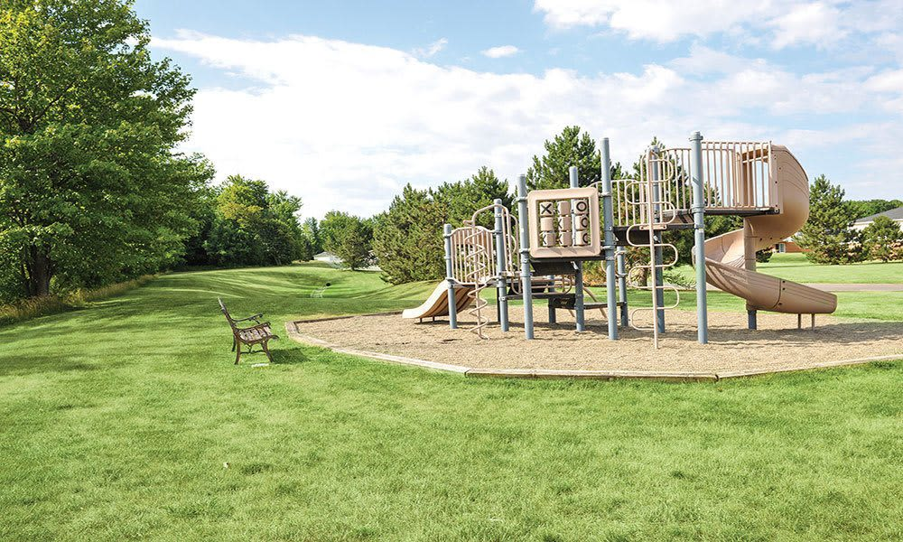 Playground at Maplewood Estates Apartments in Hamburg, New York