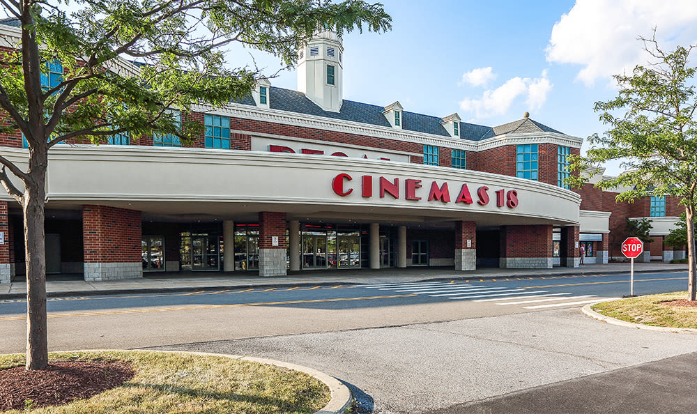 Movie theater near Maplewood Estates Apartments in Hamburg, New York