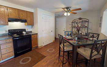Virtual tour of a two bedroom apartment at Maplewood Estates Apartments in Hamburg, New York