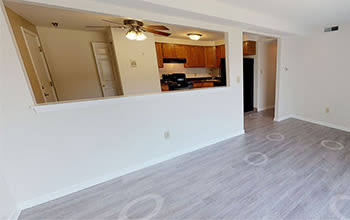 Virtual tour of a 2 bedroom apartment at Maplewood Estates Apartments in Hamburg, New York