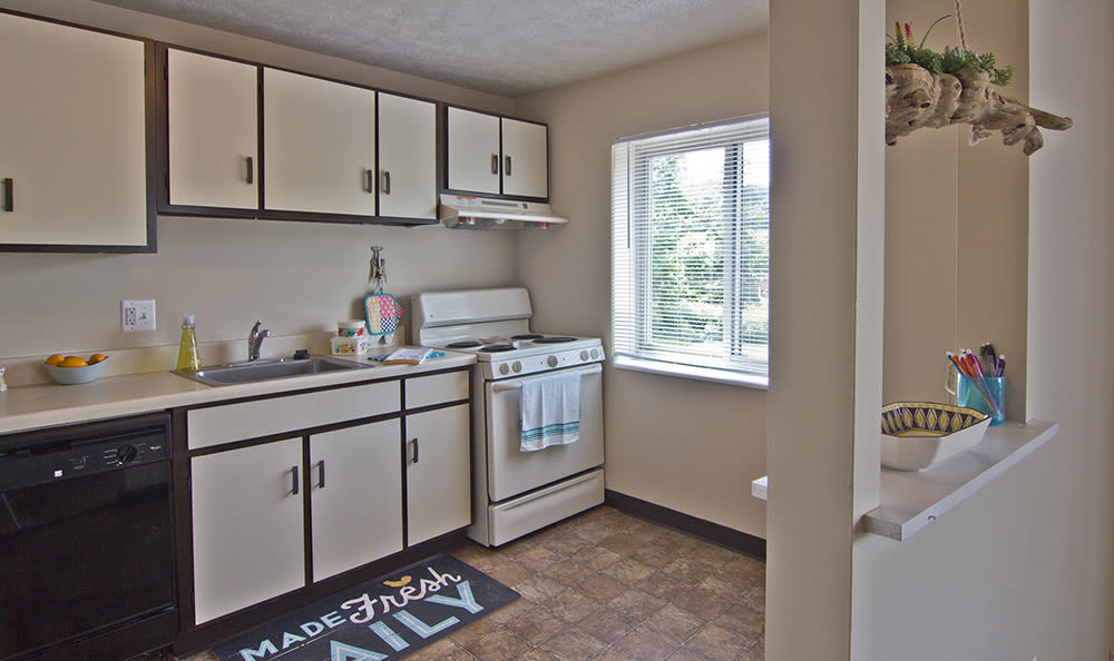 Kitchen area at Park Place of South Park in South Park, Pennsylvania