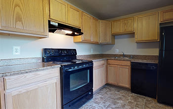 Virtual tour of a three bedroom apartment at Park Place of South Park in South Park, Pennsylvania