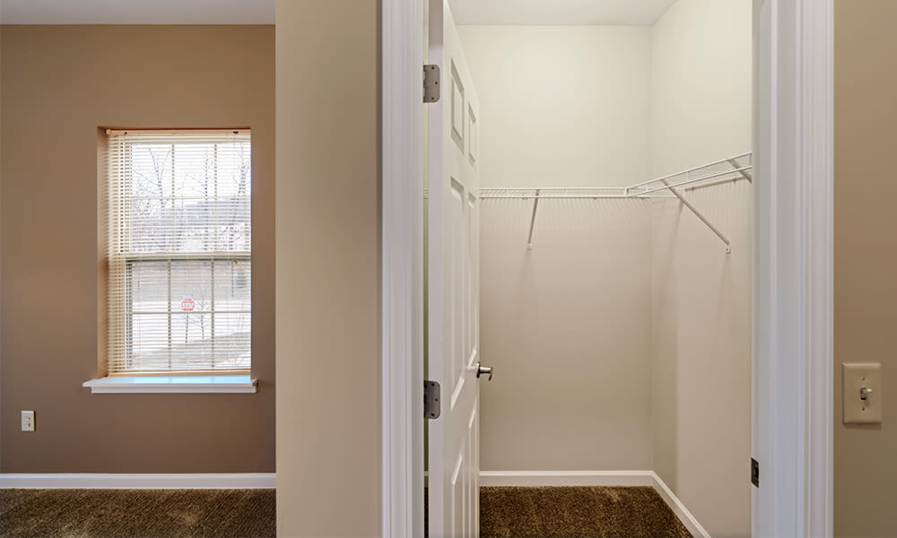 Bright bedrooms at Reserve at Southpointe in Canonsburg, Pennsylvania