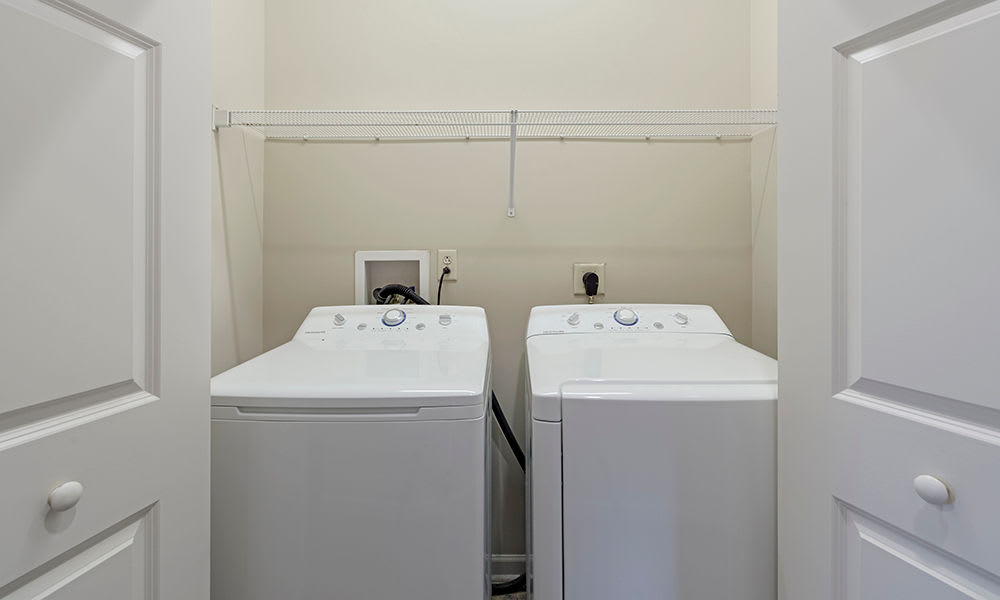 In-home washer & dryer at Reserve at Southpointe in Canonsburg, Pennsylvania
