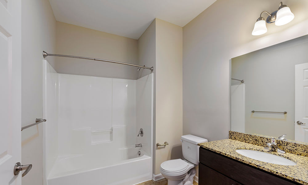 Bathroom at Reserve at Southpointe in Canonsburg, Pennsylvania