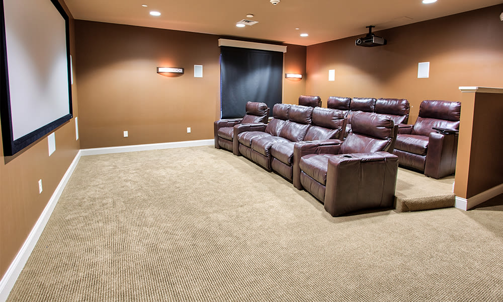 Reserve at Southpointe offers a theater room in Canonsburg, Pennsylvania