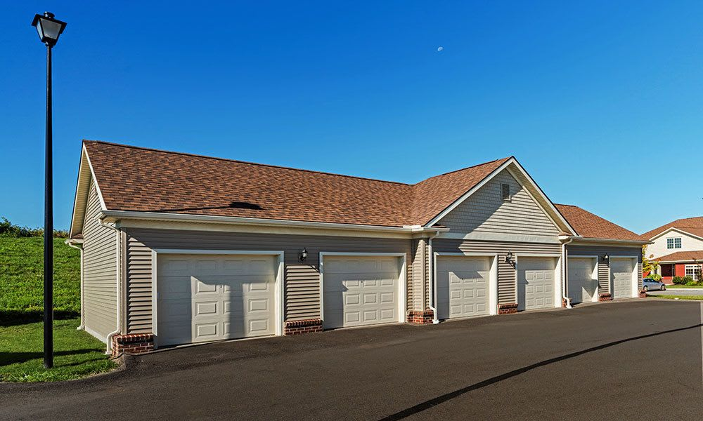 Garages at Reserve at Southpointe in Canonsburg, Pennsylvania