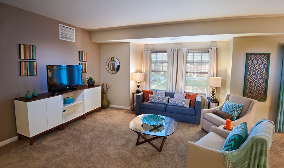 Beautifully designed spaces at Rochester Village Apartments at Park Place in Cranberry Township, Pennsylvania