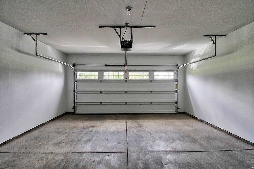 Garage at The Links at CenterPointe Townhomes in Canandaigua, New York