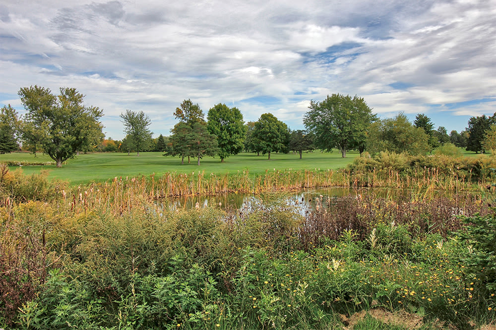 The Links at CenterPointe Townhomes offers easy golf course access in Canandaigua, New York