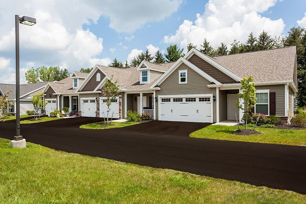 Nice Exterior of The Links at CenterPointe Townhomes in Canandaigua, New York