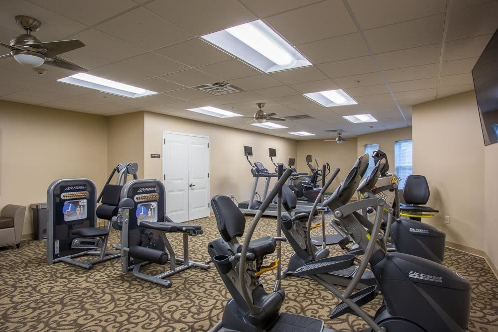 Fitness Center at The Marquis at the Woods in Webster, New York