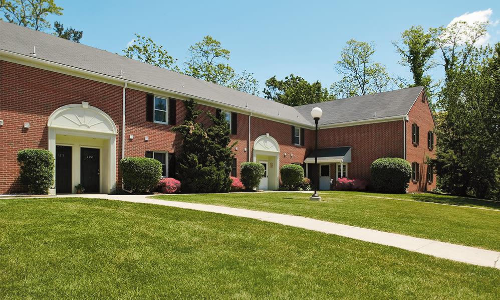 Apartment building at The Village of Laurel Ridge & The Encore Apartments & Townhomes in Harrisburg, Pennsylvania