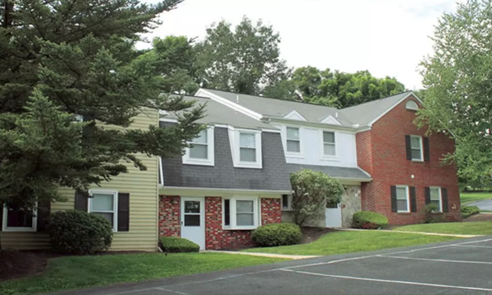 The Village of Laurel Ridge & The Encore Apartments & Townhomes in Harrisburg, Pennsylvania, townhome exterior