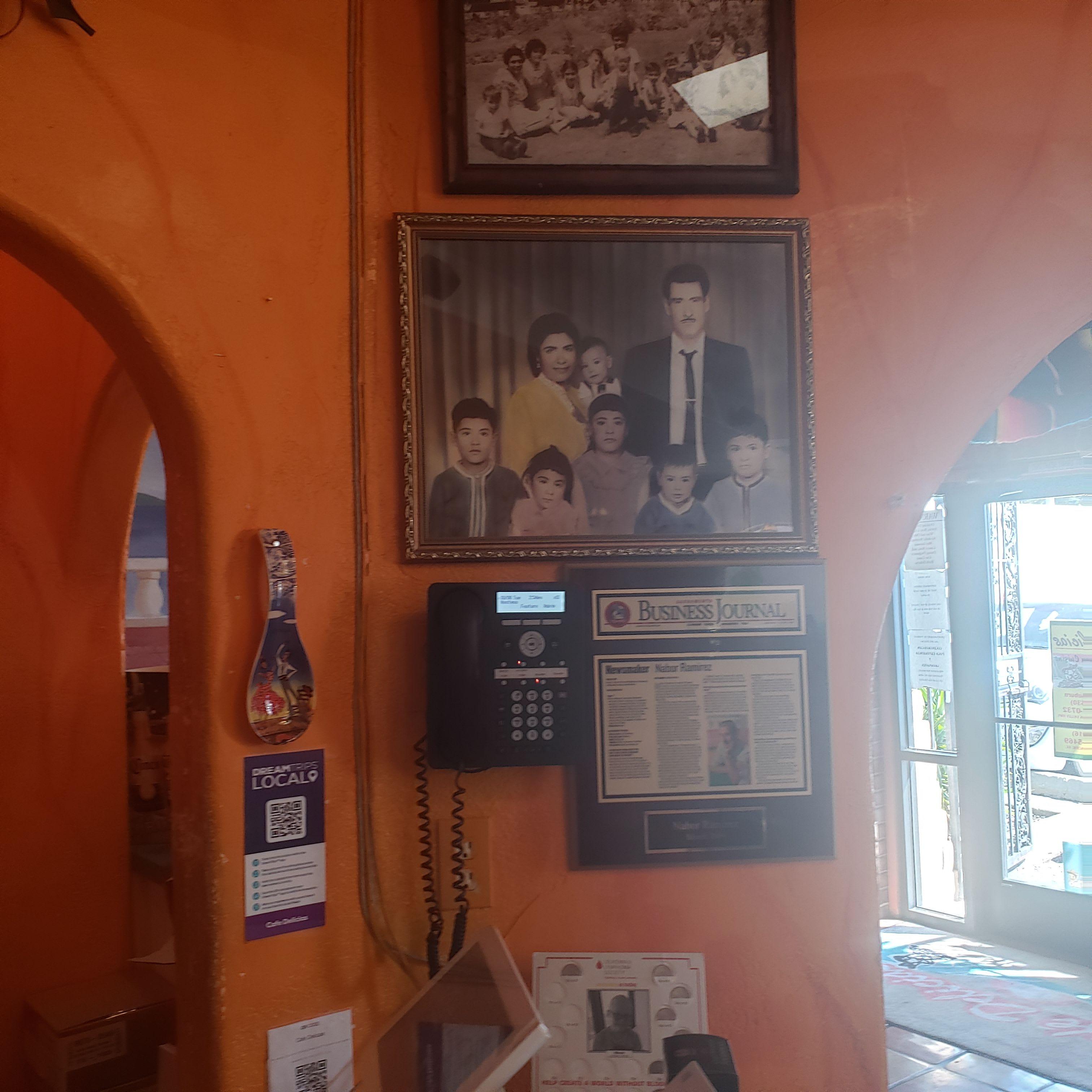 Inside Cafe DeliciasRoseville CA