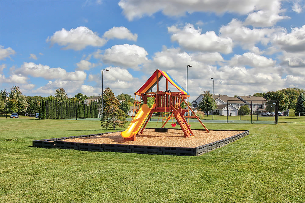 Playground at Oakmonte Apartments in Webster, New York